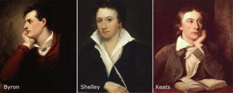 Byron and Shelley and Keats