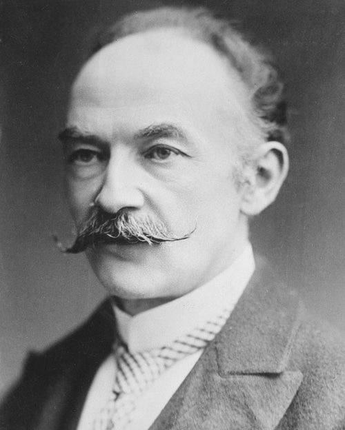 Photo of Thomas Hardy about 1912