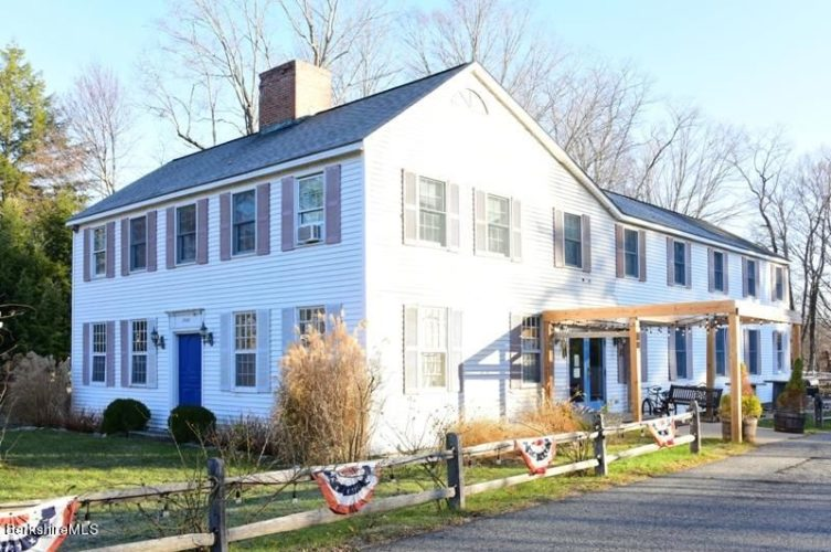 The oldest house in Sheffield, Mass., is for sale.