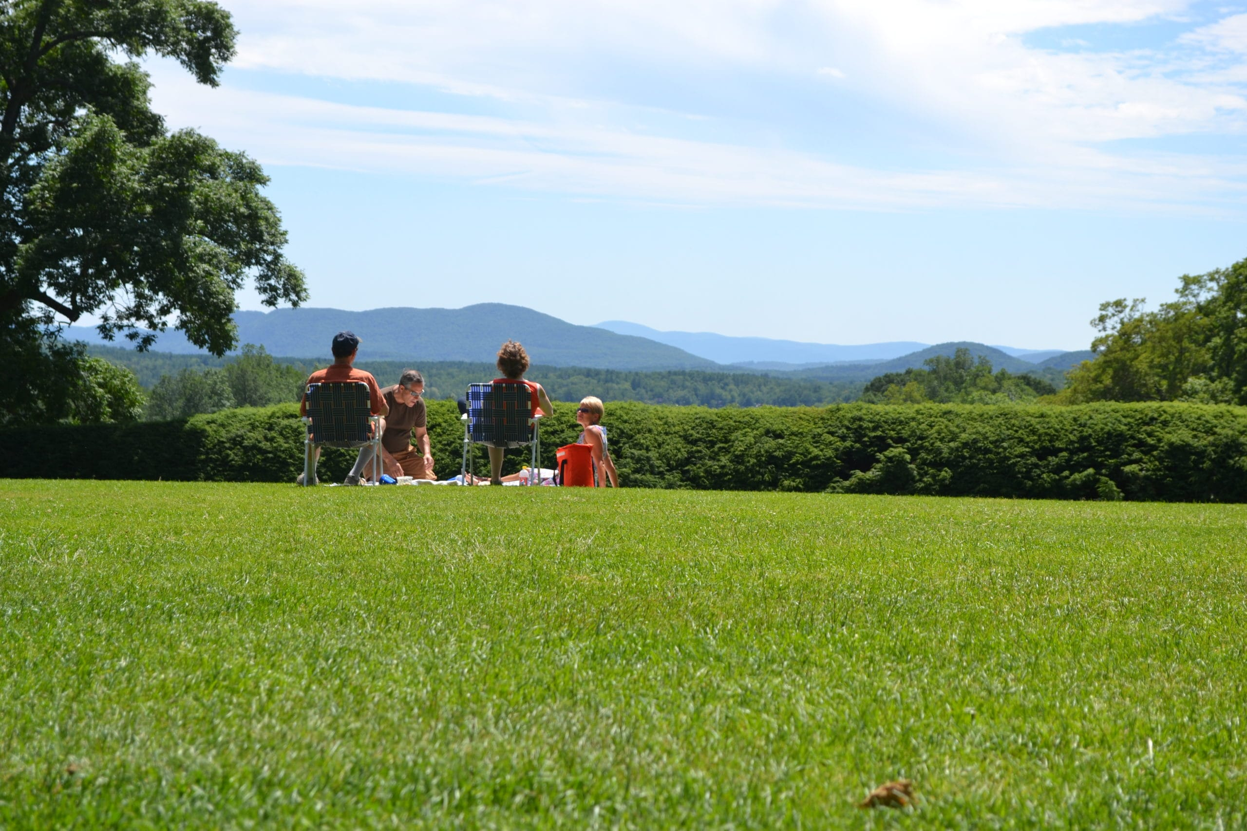 Tanglewood in Lenox, Mass. is open now for visitors.