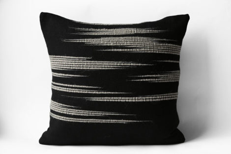 This one-of-a-kind pillow is available for sale at Workshop in downtown Great Barrington, Mass.