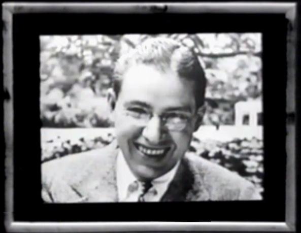 Photo of the poet Ogden Nash