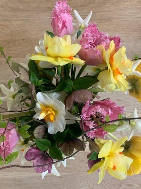 A bouquet of Elisabeth Cary's cut flowers.