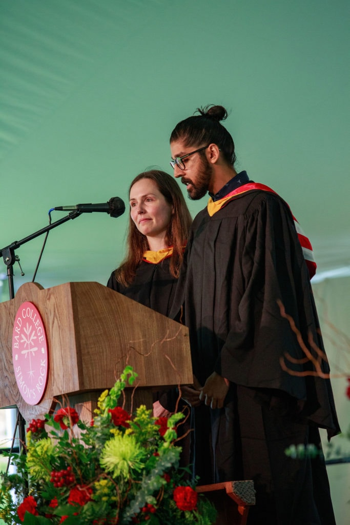 The Commencement Address at Bard College at Simon's Rock in the 2021 graduation ceremony.