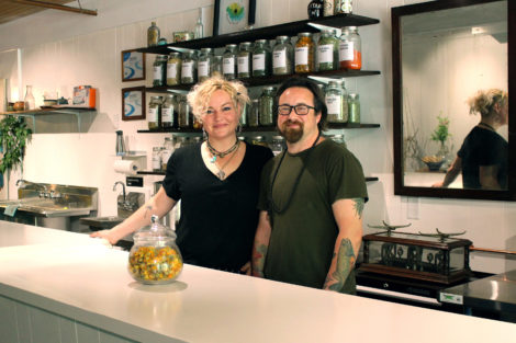 The owners of the new herbal shop in Williamstown called Wild soul River.