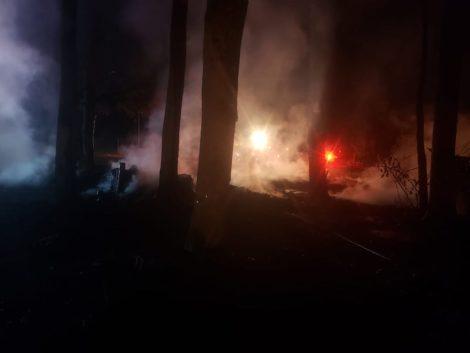 Camp Mah-Kee-Nac fire