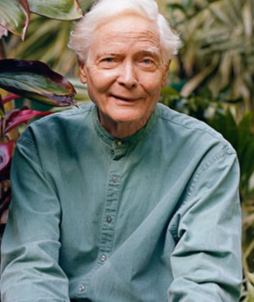 A photo of the poet W.S. Merwin