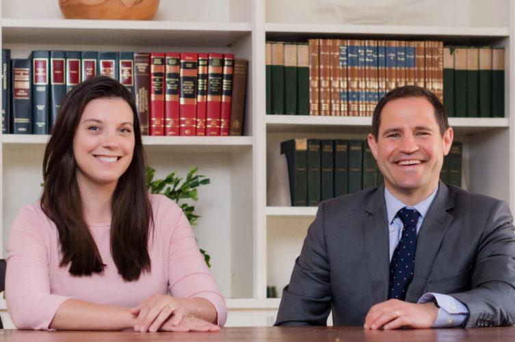 Matthew Chester and Shelley Wojtkowski of Tableaux Wealth financial advisors.