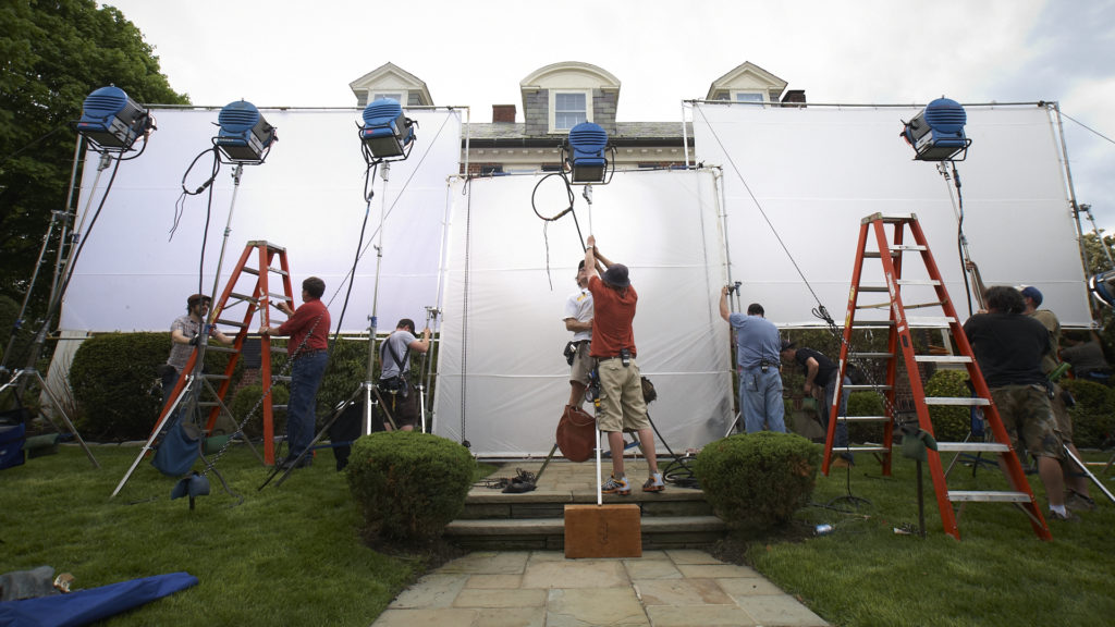 Setting up a film shoot in Massachusetts